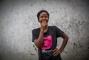 Mwajuma, a former volunteer peer educator on our Girls Lets Be Leaders project in Tanzania.
