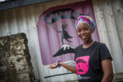 Salha is a longstanding volunteer peer educator on our Girls Lets Be Leaders project in Tanzania.